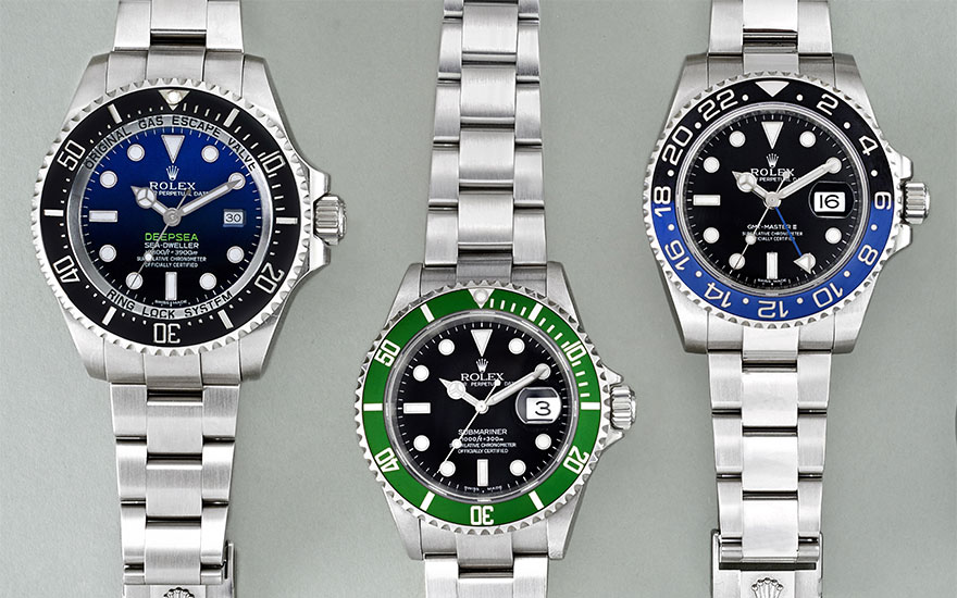 Steve McQueen to Bart Simpson Rolexes with nicknames