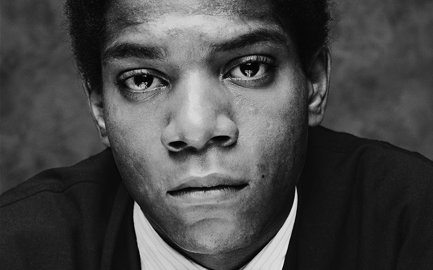 Jean Michel Basquiat photographed in 1984 © Photo Chalkie DaviesGetty Images
