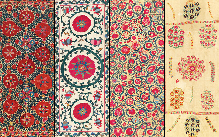 A guide to suzani textiles