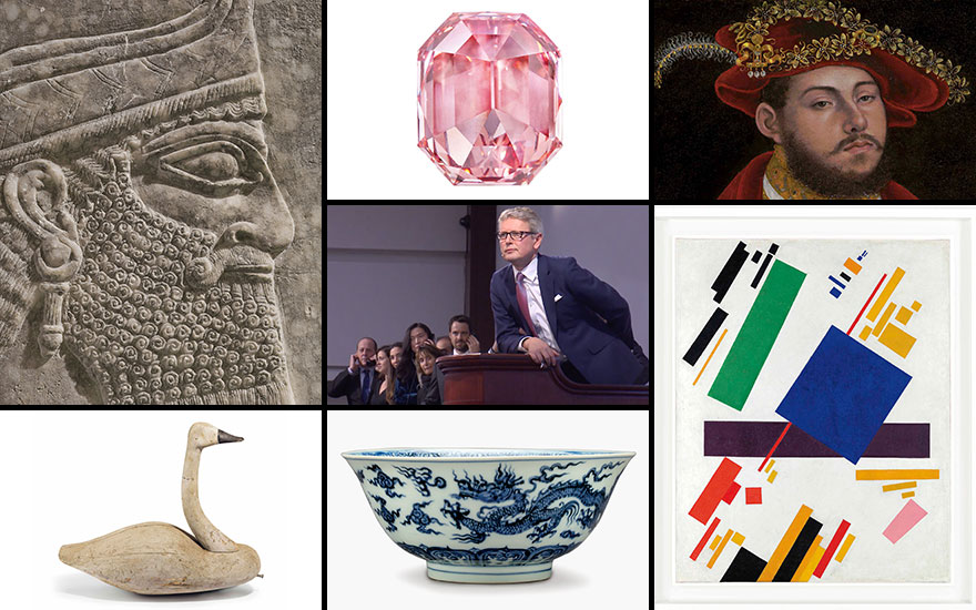 Auction highlights of 2018 — the year in art and objects