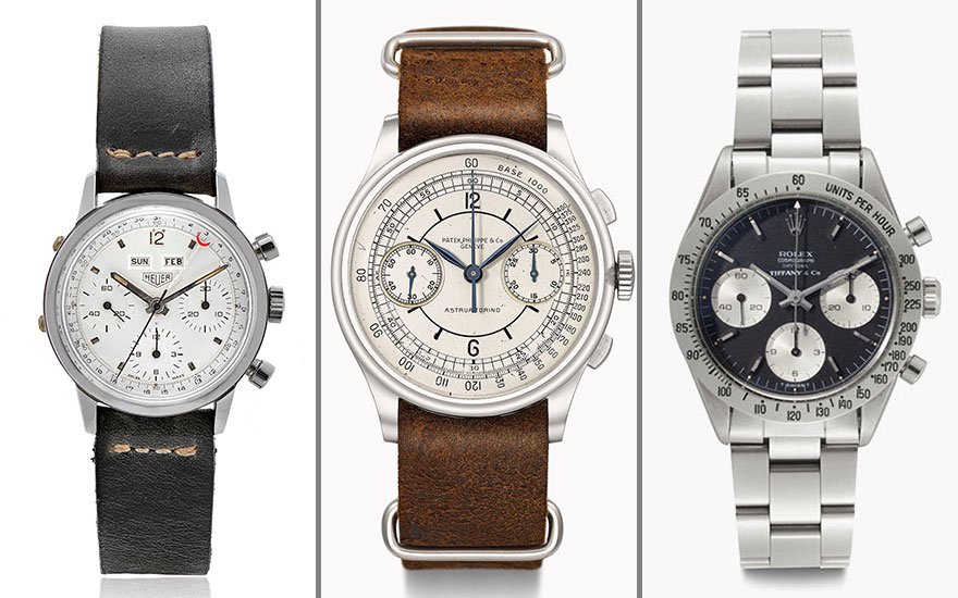5 reasons why collectors love chronographs