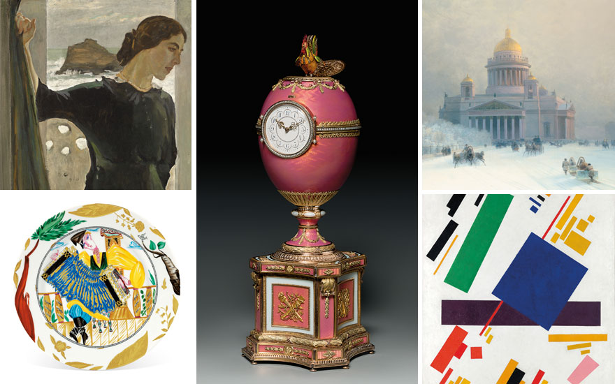 50 years of Russian Art masterpieces at Christie's