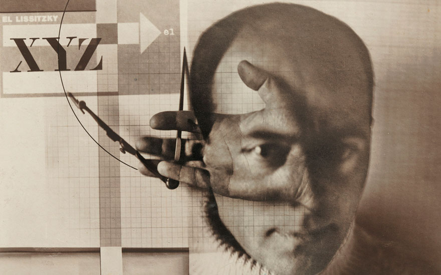 (Detail of) El Lissitzky (1890-1941), Self-Portrait (The Constructor). Sheet 9 ¾ x 11⅜ in (24.8 x 29 cm). Sold for £947,250 on 6 March 2019 at Christie's in London