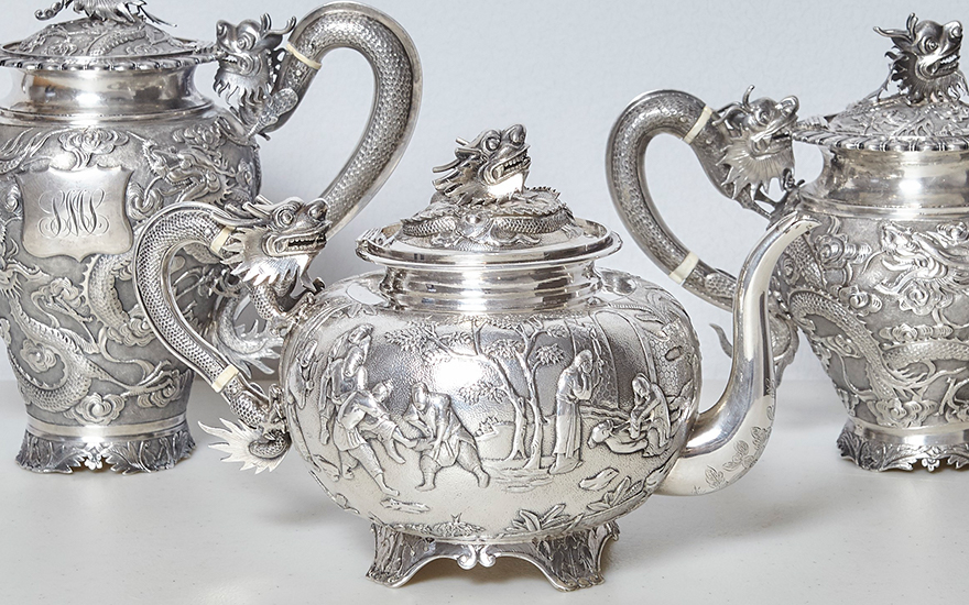 Chinese export silver – a guide for new collectors