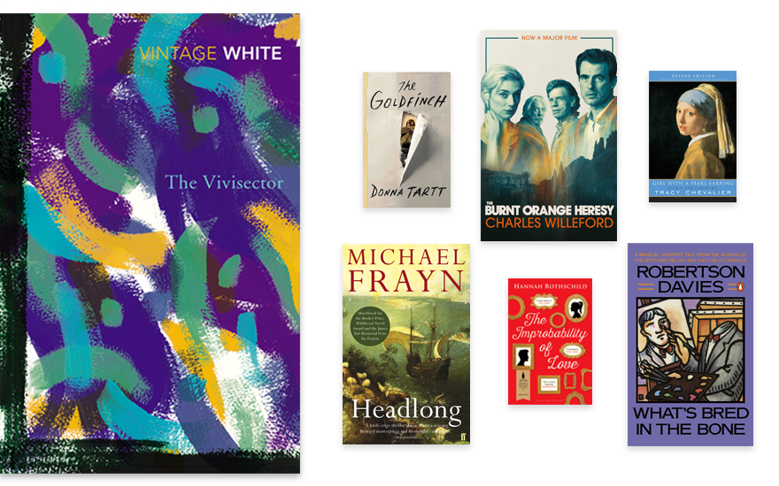 Get lost in the art 10 great art novels to read now