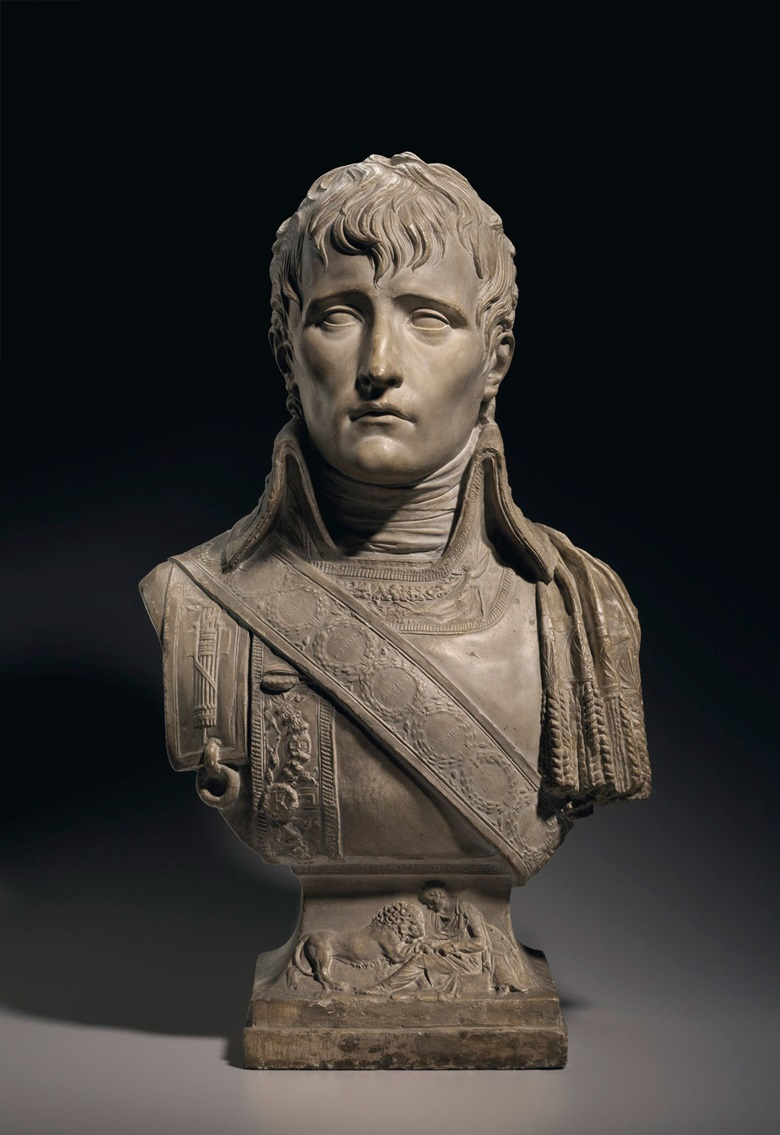Tinted plaster bust of Napoleon Bonaparte as First Consul by Joseph Chinard (Lyon 1756-1813), 1801. Estimate $30,000-50,000. This lot is offered in the Revolution sale on 13 April at Christie's New York