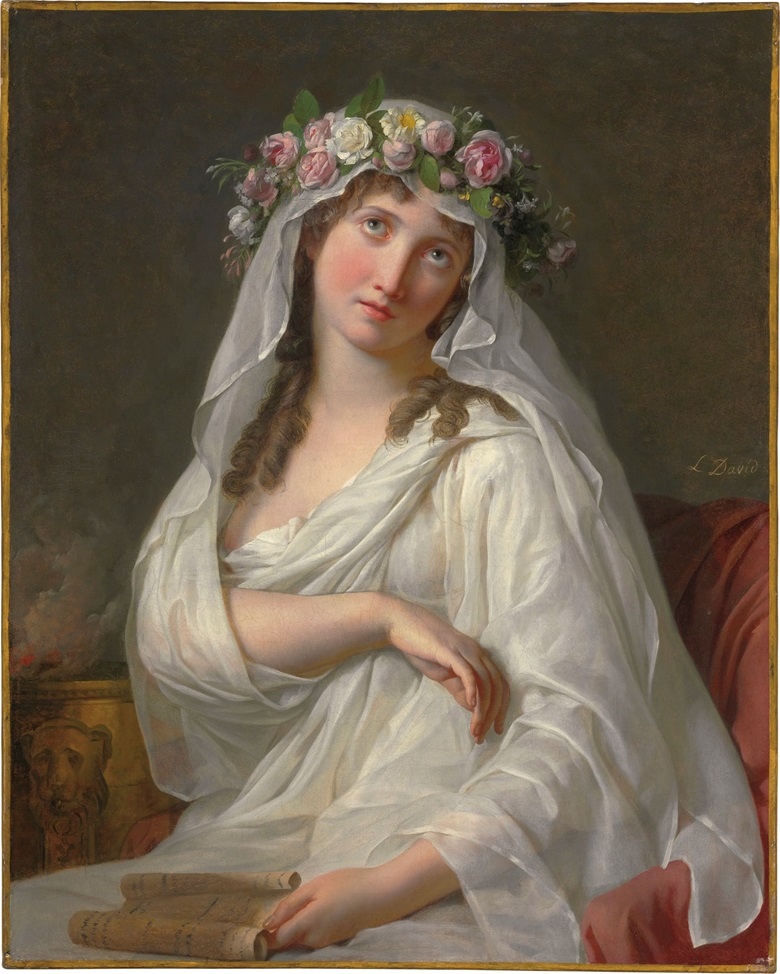 Jacques-Louis David (Paris 1748-1825 Brussels), A Vestal. Oil on canvas. 32 x 25 ¾ in. (81.1 x 65.4 cm.) Estimate $3,000,000-5,000,000. This work is offered in the Revolution sale on 13 April at Christie's New York