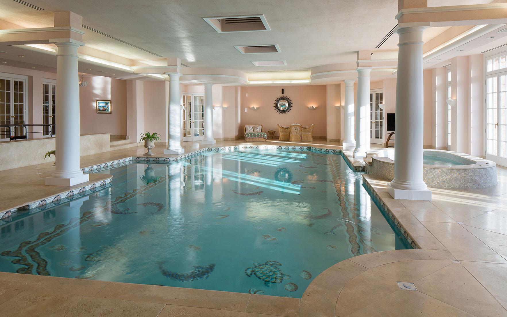 Indoor Swimming Pools: Luxury Living | Christie\'s