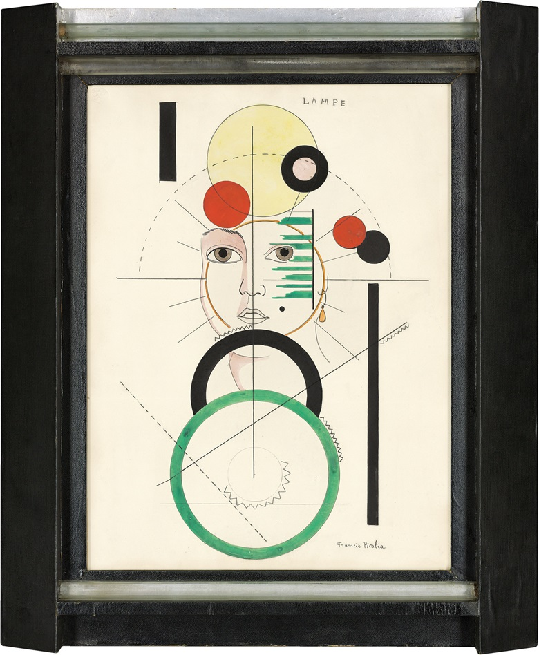 Francis Picabia (1879-1953), Lampe, circa 1923. Watercolour, brush and India Ink and pencil on paper. 24¾ x 18⅝ in (63 x 47.2 cm). Estimate £800,000-1,500,000