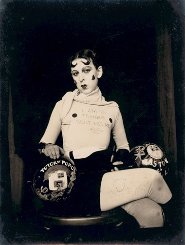 Claude Cahun, I am in Training Dont Kiss Me, c. 1927. Jersey Heritage Collections © Jersey Heritage
