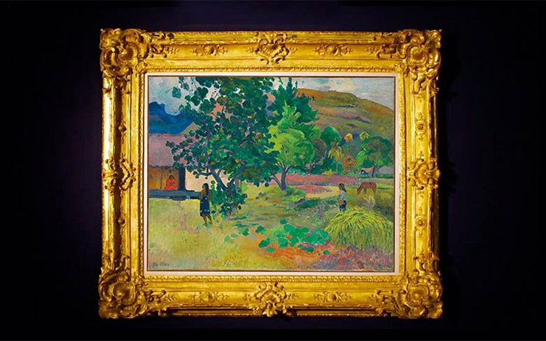 Paul Gauguin, Te Fare (La maison), 1892. This work was offered in the Impressionist & Modern Art Evening Sale on 28 February at Christie's London and sold for £20,325,000