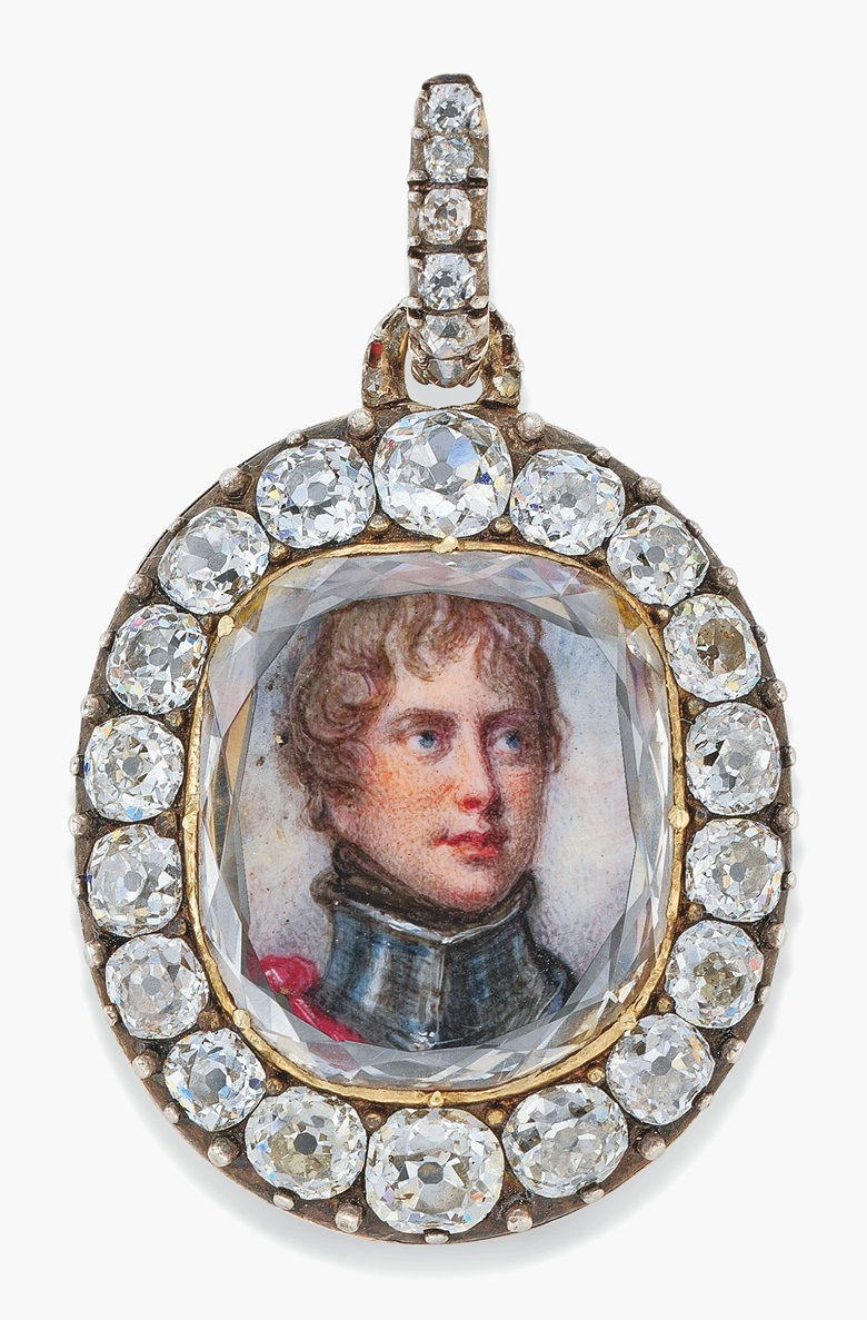 The Maria Fitzherbert jewel. Sold for £341,000 on 6 July 2017 at Christie's in London