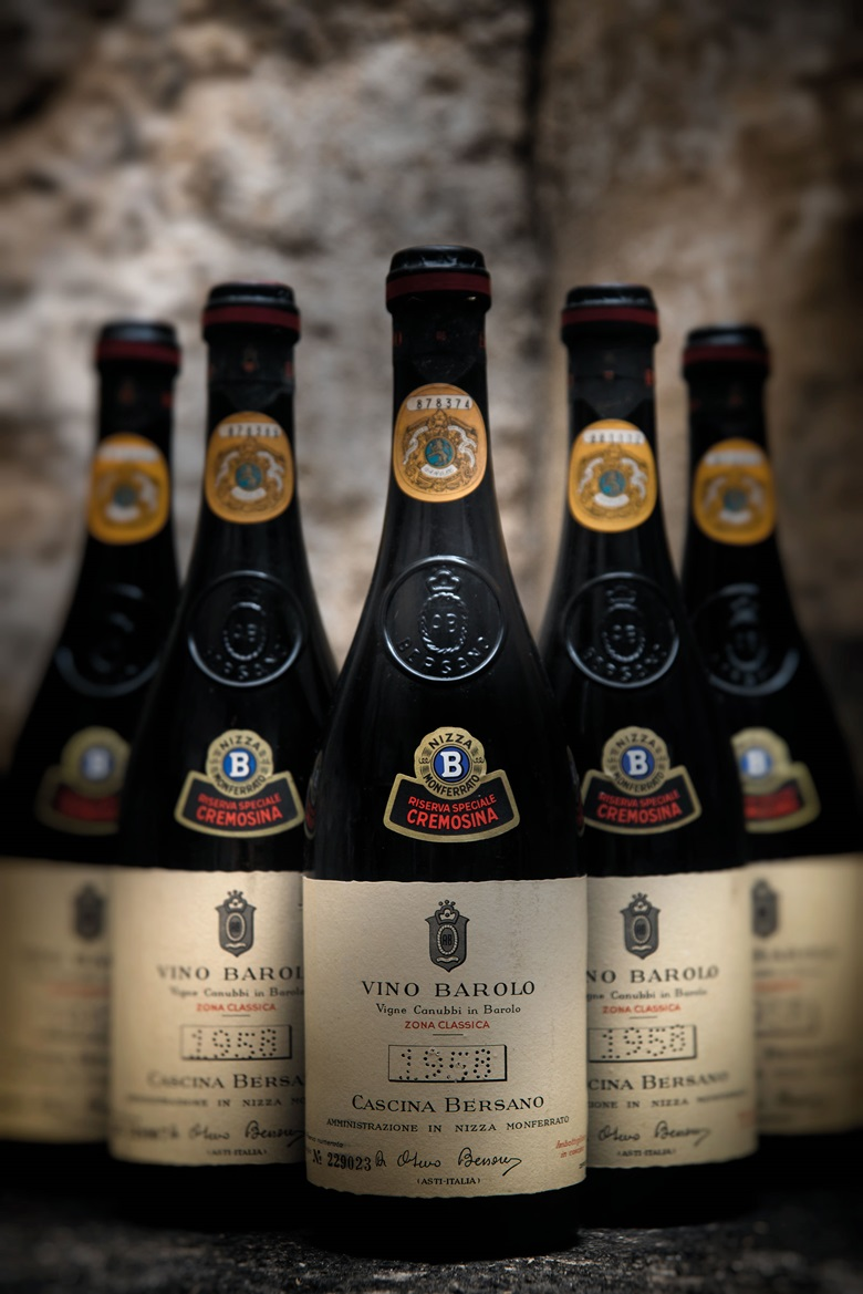 Bersano, Barolo Riserva Speciale Cremosina 1958, 12 bottles per lot. This lot was offered in Fine and Rare Wines including a Superb Selection from the Cellars of the Earl of Halifax  on 21 September 2017  at Christie's in London and sold for £720