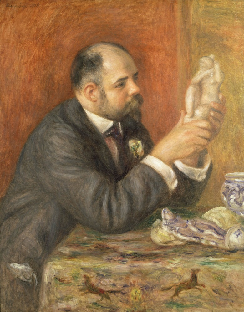 Pierre-Auguste Renoir (1841-1919), Portrait of Ambroise Vollard, 1908. The Courtauld Gallery, London. © Samuel Courtauld Trust, The Courtauld Gallery, London, UK  Bridgeman Images