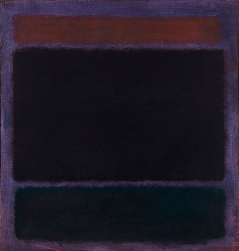 Mark Rothko (1903-1970), Untitled (Rust, Blacks on Plum), 1962. Oil on canvas. 60 x 57 in (152.4 x 144.8 cm). Estimate $35,000,000-45,000,000. Offered in the Post-War and Contemporary Art Evening Sale on 15 November at Christie's in New York © 1998 Kate Rothko Prizel & Christopher Rothko ARS, NY and DACS, London
