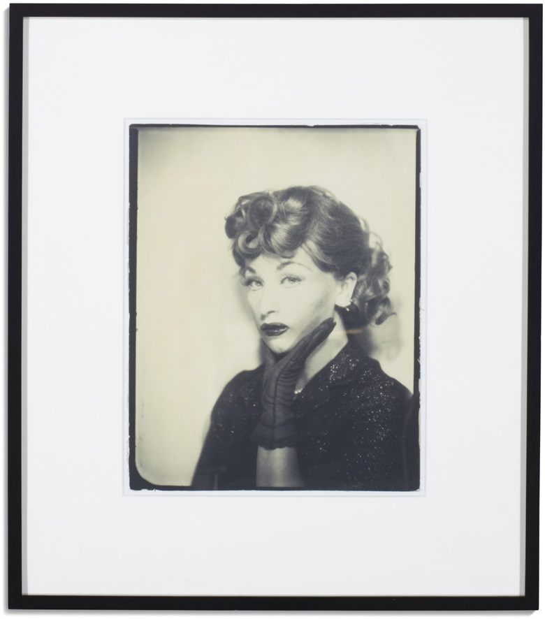 Cindy Sherman (b. 1954) Untitled, 1975-2001. Gelatin silver print. 10⅜ x 8⅜ in (26.3 x 21.3 cm). This work is from an unknown edition. Estimate $7,000-10,000. Offered in The Collection of Melva Bucksbaum Post-War and Contemporary Art, Photographs and Prints, online
