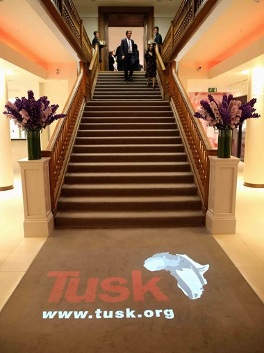Visitors to King Street were reminded of Tusk's vital mission
