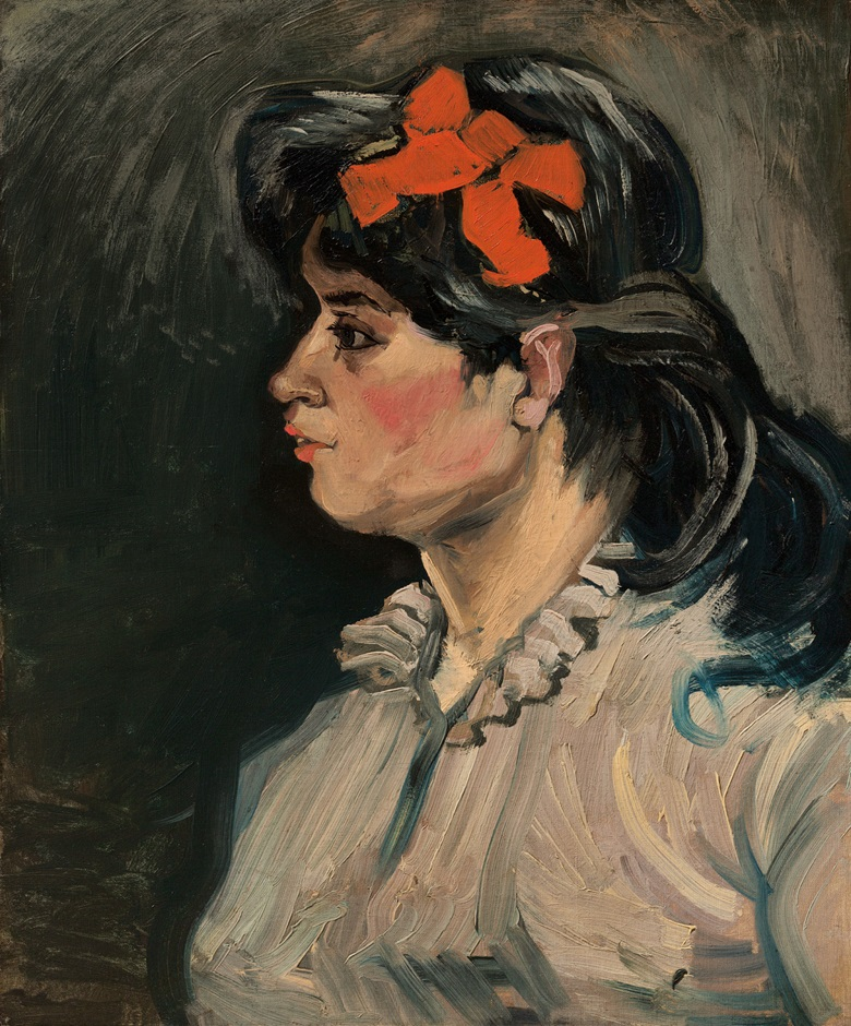 Vincent van Gogh (1853-1890), Portrait de femme buste, profil gauche, 1885. Oil on canvas. 23⅝ x 19¾ in (60 x 50.2 cm). Estimate £8,000,000-12,000,000. Offered in Hidden Treasures on 27 February 2019 at Christie's in London