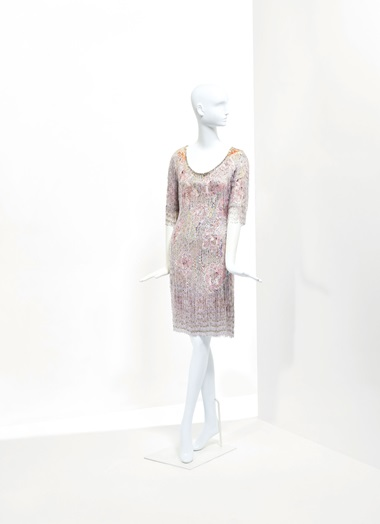 A beaded evening dress, SpringSummer 1969. Sold for €42,500 on 24 January at Christie's in Paris