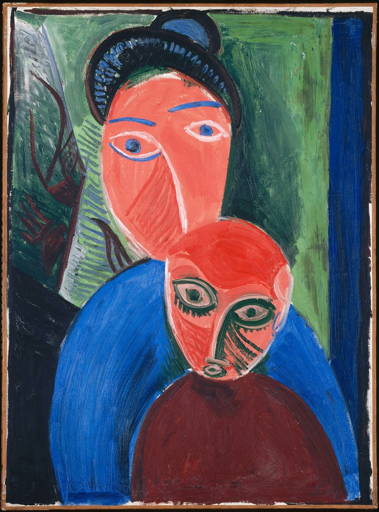 Pablo Picasso, Mother and Child, 1907. 81 x 60 cm. Musée National Picasso-Paris © Succession Picasso 2018