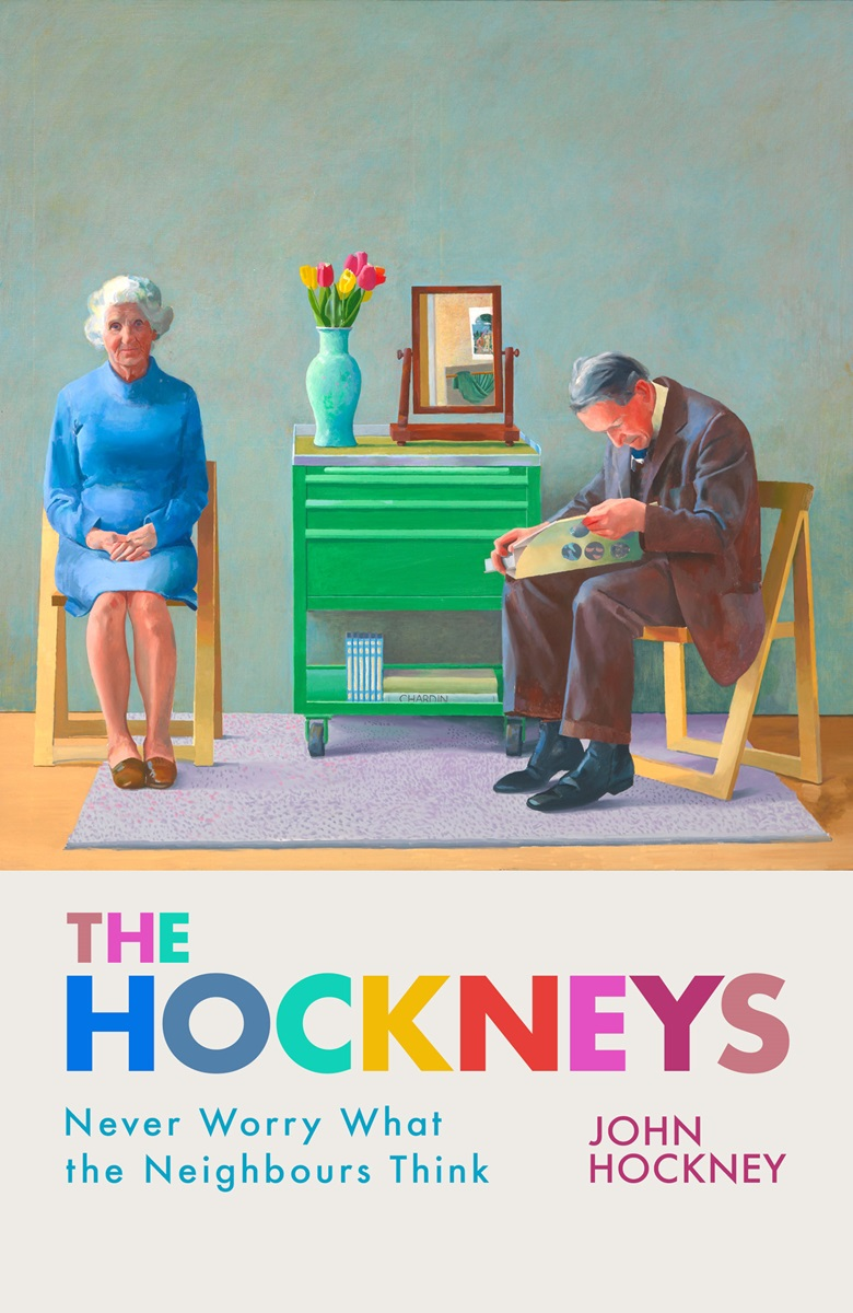 John Hockney's forthcoming memoir Never Worry What the Neighbours Think, will be published in October 2019 by Legend Press. On the cover is the 1977 painting My Parents  by David Hockney, which is now held in the Tate Collection © David Hockney