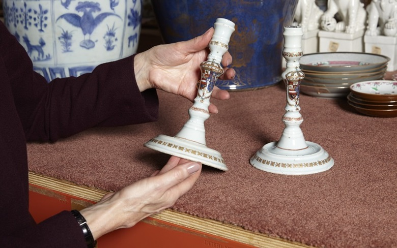 'Collectors of Chinese export — and especially of armorial porcelain — love the intricate stories behind these things and the way they bring history to life,' says specialist Becky MacGuire