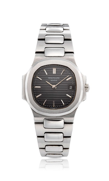 Patek Philippe, ladies' steel Nautilus, ref. 4700. Bracelet size 5.7 in  145 mm. Estimate $7,000-10,000. This lot is offered in  Christie's Watches Online The Keystone Collection, 30 July to 13 August 2019, Online