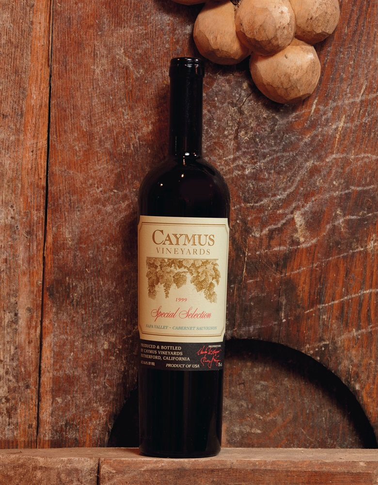 Caymus, Cabernet Sauvignon Special Selection 1999, 12 bottles per lot. Estimate CHF 1,600-2,000. Offered in Fine & Rare Wines The 40 years Jubilee of ALPINA Fine Wines on 10 November 2019 at Christie's in Geneva