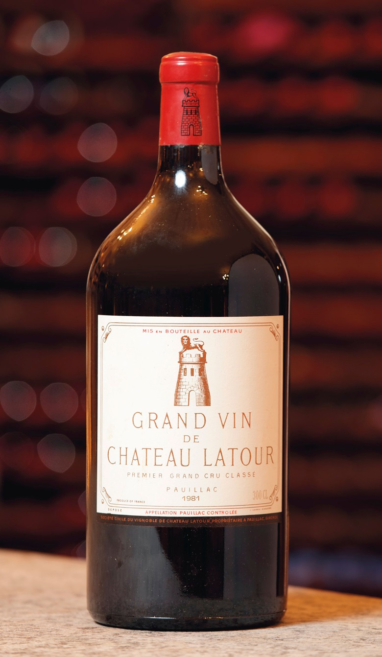 Château Latour 1981. Estimate CHF 9,000-12,000. Offered in Fine & Rare Wines The 40 years Jubilee of ALPINA Fine Wines on 10 November 2019 at Christie's in Geneva