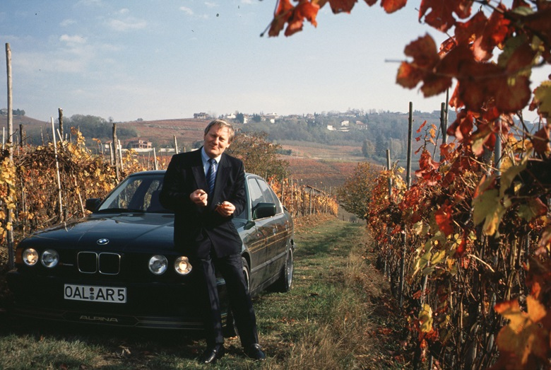 Bovensiepen began collecting wines from the places where his cars were winning races