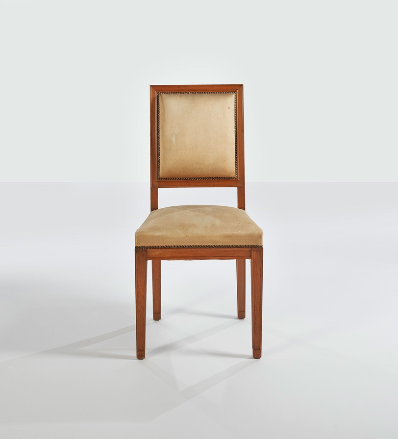 Jean-Michel Frank (1895-1941), Chair, model circa 1931, version circa 1939. Sold for €35,000 on November 19 2019 at Christie's in Paris