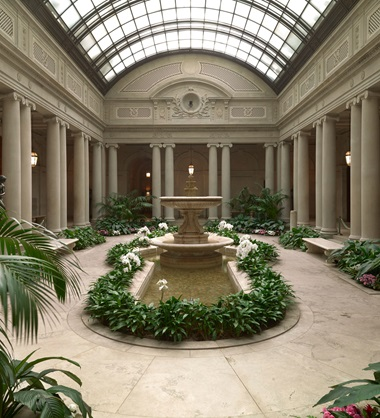 The Garden Court, The Frick Collection, New York. Photo Michael Bodycomb